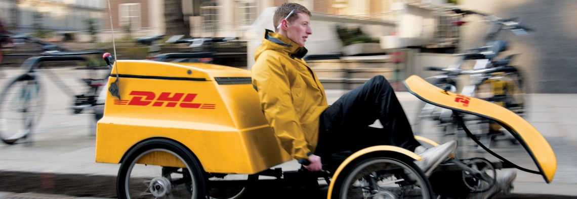 DHL quadracycle